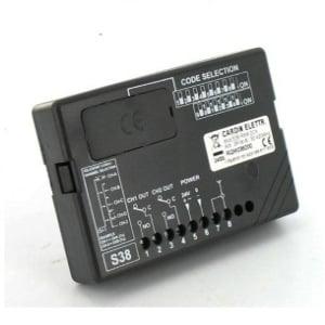CARDIN Récepteur radio CARDIN S38 RXM fréquence 30.875 Mhz 2 canaux