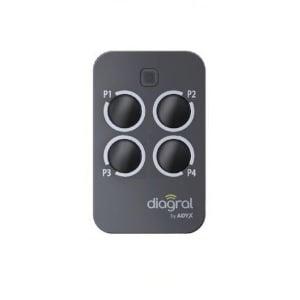 diagral diag44mcx en 48 h prix r duit notice de programmation incluse telecommandes. Black Bedroom Furniture Sets. Home Design Ideas