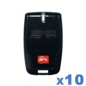 LOT de 10 télécommandes BFT B RCB02