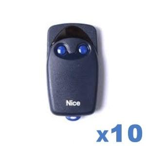 LOT de 10 télécommandes NICE FLO 2R