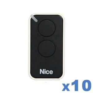 LOT de 10 télécommandes NICE INTI 2B