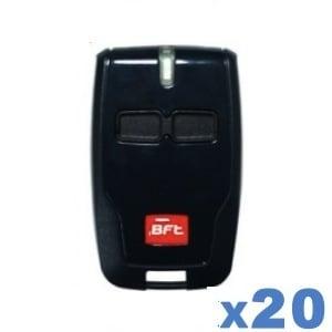 LOT de 20 télécommandes BFT B RCB02