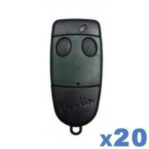 LOT de 20 télécommandes Cardin S449 QZ2