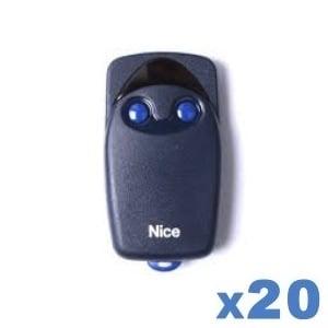 LOT de 20 télécommandes NICE Flo 2