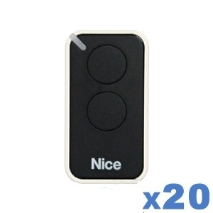 LOT de 20 télécommandes NICE INTI 2B