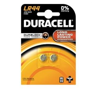 2 Piles DURACELL LR44