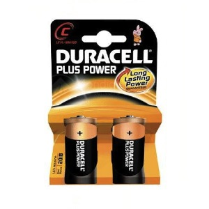2 Piles DURACELL MN1400-C