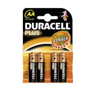 4 Piles DURACELL MN1500-AA