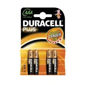 4 Piles DURACELL MN2400-AAA