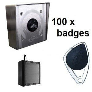 INTRATONE KIT 100-BADGES