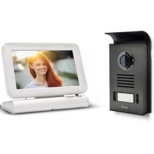 Visiophone Extel sans fil couleur Lesli - Mémoire de passage photo et vidéo